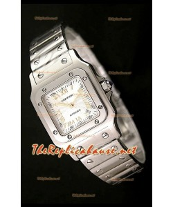 Cartier Santos Réplica Reloj Suizo para Señoras 29MM - Numerales de Hora en Oro