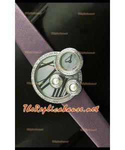 Perles de Cartier Reloj Suizo para Señoras en Oro Rosa