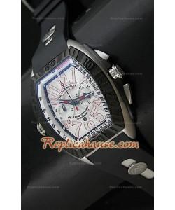 Reloj de Acero Franck Muller Edición Conquistador Sengapore GP