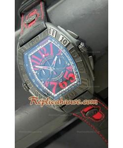 Reloj en PVD Franck Muller Edición Conquistador Sengapore GP