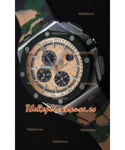 Audemars Piguet Royal Oak Offshore Reloj Réplica Cronógrafo Edición CAMO