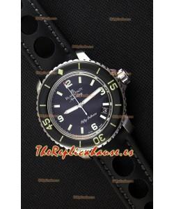 Blancpain Fifty Fathoms Reloj Réplica Suizo a Espejo 1:1 - Edición Aqua Lung Tribute