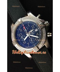 Breitling Avenger BANDIT Reloj Réplica Suizo Caja de titanio , Dial Negro, Reloj Réplica a Espejo 1: 1