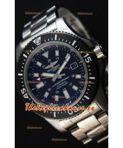Breitling SuperOcean 44 Reloj Suizo Especial de Acero con Correa de Acero.