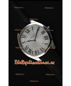 "Cartier ""Drive de Cartier"" Mechanical Reloj Réplica de Cuarzo Suizo 40MM"