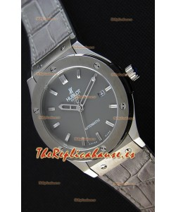 Hublot Classic Fusion Racing Reloj Réplica Suizo en Titanio color Gris - Réplica a Espejo 1:1