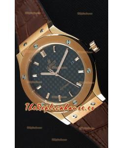 Hublot Classic Fusion King Gold Reloj Réplica Suizo - Réplica a Espejo 1:1
