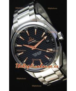Omega Seamaster Aqua Terra Co-Axial Negro Edición Limitada Reloj Réplica Suizo a Espejo 1:1
