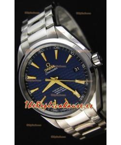 Omega Seamaster Aqua Terra Co-Axial Edición Limitada Reloj Réplica Suizo a Espejo 1:1 color Azul