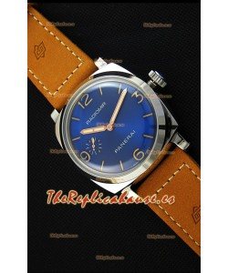 Panerai Radiomir PAM690 1940 Reloj Réplica Suizo a Espejo 1:1 Dial en Acero color Azul