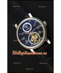Patek Philippe Japanese MoonPhase Tourbillon Reloj Réplica Dial Negro