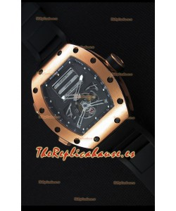 Richard Mille RM069 Tourbillon Erotic Reloj Réplica Caja en Oro Rosado