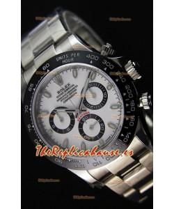 Rolex Cosmograph Daytona 116500LN Movimiento Original Cal.4130 Dial Blanco - Último Reloj de Acero 904L