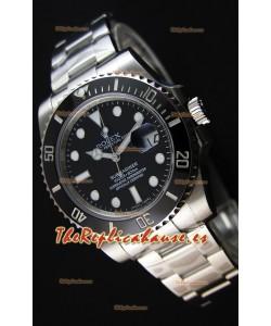 Rolex Submariner Ref#116610 Reloj Réplica Suizo a Espejo 1:1 - Reloj en Acero 904L