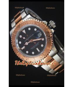 Rolex Yachtmaster REF#116623 Movimiento Cal.3135 Dos Tonos Último Reloj de Acero 904L