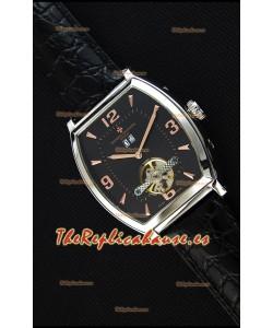Vacheron Constantin Malte Reloj Réplica Japonés Tourbillon Dial color Negro