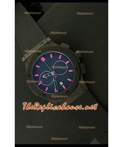 Hublot Vendome Reloj Crónografo Japonés en PVD