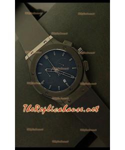 Hublot Vendome Cronógrafo PVD Reloj Japonés - Marcas Negras