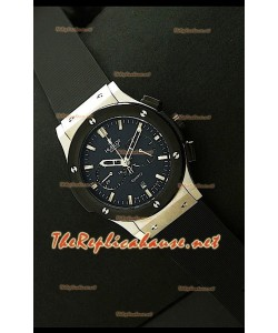 Hublot Vendome Reloj Cronógrafo Japonés de Acero Inoxidable