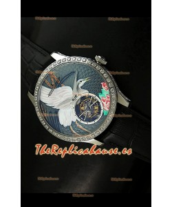 Jaeger LeCoultre Turbillón Volador Porcelana – RÉPLICA ESPEJO