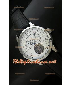 Reloj cronómetro Jaeger LeCoultre de acero