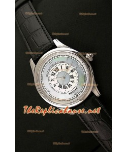 Mont Blanc Mechanique Horlogere Reloj Suizo con Esfera Madre Perla
