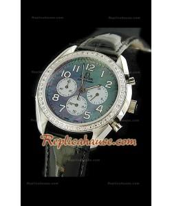 Omega Speedmaster Multicolor Reloj con Esfera Perla  - 38MM