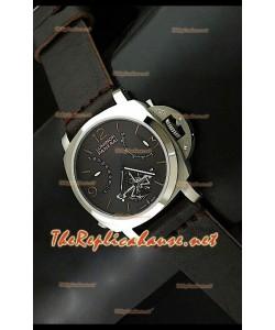 Panerai Lumenor Reloj Tourbilon Con Reserva de Energía de 44MM - Esfera Marrón