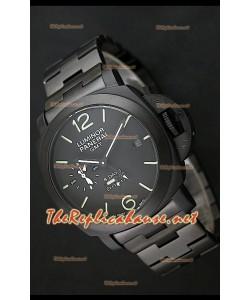 Reloj japonés Réplica Panerai Luminar GMT de 8 días