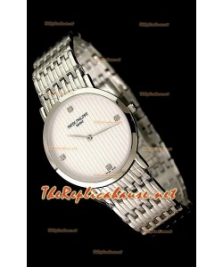 Patek Philippe Reloj Japonés de Cuarzo en Acero Inoxidable - 38MM