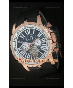 Roger Dubuis Excalibur Tourbilon Reloj Japonés