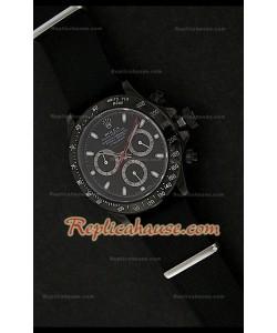 Rolex Daytona Pro Hunter Reloj Suizo con Esfera Clásica de color Negro