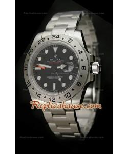 Réplica Reloj Rolex Edición Explorer II 2011 con Esfera de color Negro