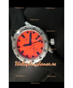Sinn U1 Juweiler Roberto Edición Limitada – 1:1 Réplica Espejo – Esfera Naranja