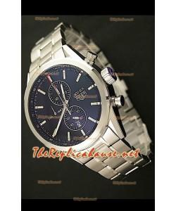Tag Heuer SLR 300 Reloj Japonés con Esfera de color Negro - Correa de Acero