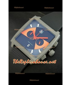 Reloj Tag Heuer Monaco edición japonesa limitada de titanio.