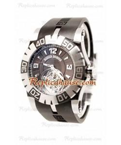 Roger Dubuis Tourbidiver Tourbillon Reloj Suizo de imitación