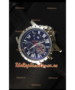 Roger Dubuis Excalibur Calendar Reloj con Dial Negro