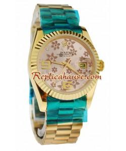 Rolex Réplica Datejust Tamaño Medio - 36MM Reloj