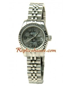 Rolex Réplica estampado floreado Datejust Reloj para Dama