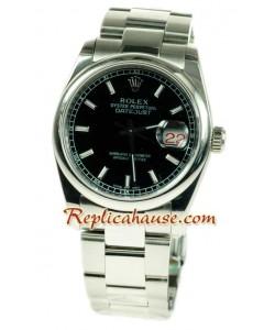 Reloj Rolex Réplica Datejust Silver Réplica