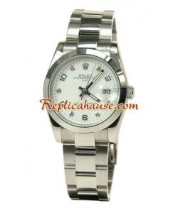 Rolex Réplica Datejust Reloj Tamaño Medio