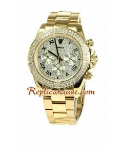 Rolex Réplica DaytonaDial diamante Edición Reloj