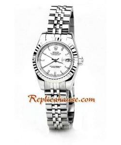 Rolex Réplica Datejust Reloj para Dama