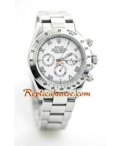 Reloj Rolex Réplica Daytona de Acero Inoxidable