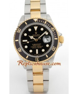 Rolex Réplica Submariner-Two-tone