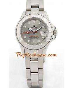 Rolex Réplica Yachtmaster Suizo Reloj para Dama