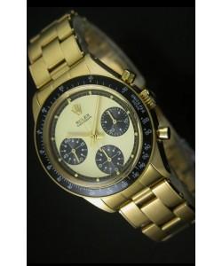 Rolex Daytona 6263 Cosmograph Caja y Dial en Oro