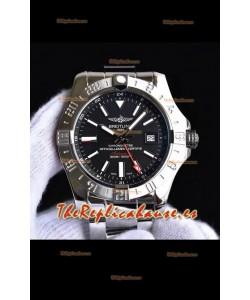 Breitling Avenger II Steel GMT Reloj Réplica Suizo a espejo 1:1 Último