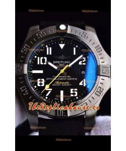 Breitling Avenger II Seawolf Airblack Reloj Réplica Suizo a espejo 1:1 Último
